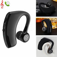 Wireless Universal Bluetooth Headset Headphone Stereo Earpiece For iPhone Nokia
