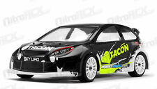 1/12 Tacon Ranger Rc Electric Rally Car Ready to Run w/ Brushed Motor Black New