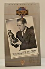 The Maltese Falcon Rare Vhs (1986) New and Sealed Humphrey Bogart Whv