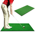 Golf Hitting Mat Artificial Turf Practice Golf Mat w/ Tee Indoor Outdoor 4 Sizes