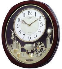 Rhythm Clocks Joyful Land Musical Motion Clock (4MH850WD23)