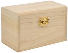 Schatzkiste Holzkiste Holzkästchen Holzschachtel Kiste Bastelbedarf Schatztruhe