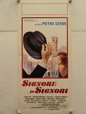 SIGNORE E SIGNORI commedia regia Pietro Germi locandina orig. 1966