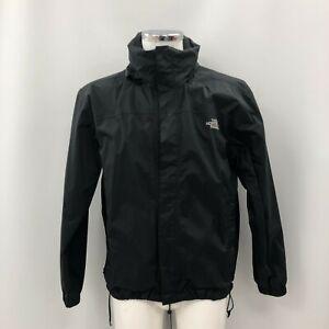 The North Face Jacket Black Size Medium Men's Zipped Outdoor Rain Wear 303975