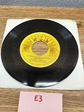 "JOHNNY CASH ""Goodbye Little Darling/ You Tell"" Sun Golden Treasure 45 Vinyl  E3"