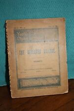 Vintage Young Folks Library of Choice Literature The Desserted Village Goldsmith