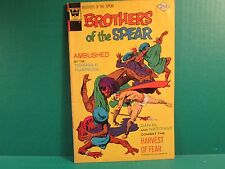 1972 Whitman Brothers Of The Spear #12 Comic Book Western Publishing Co.Inc.