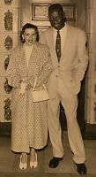 Real Photo RPPC~Interracial Couple Black US Soldier & German Wife ~ Heidelberg