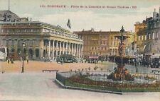 BORDEAUX – Place de la Comedie et Grand Theatre - France