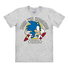 Retro: Videospiel - Sega - Igel - Sonic the Hedgehog - 1991 - T-Shirt, LOGOSHIRT
