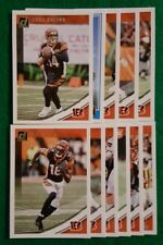 2018 Donruss Cincinnati Bengals Team Set. AJ Green, Andy Dalton. 11 Cards, 2 RC