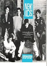 New Kids On The Block Step (CBS) UK magazine ADVERT/Poster/clipping 11x8 inches