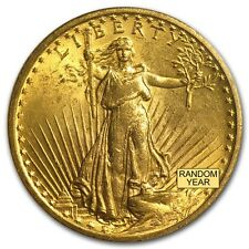 $20 Saint-Gaudens Gold Double Eagle MS-64 PCGS (Random) - SKU #7224