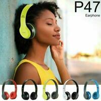 Drahtlose Bluetooth-Kopfhörer Faltbare Stereo-Kopfhörer Super Bass Headset Mic