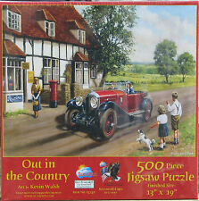 SunsOut OUT IN THE COUNTRY 500 pc Jigsaw Puzzle Kevin Walsh
