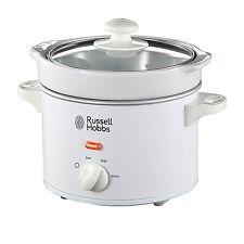 Russell Hobbs 22730 Slow Cooker Crockpot Schongarer 2,0l  120W Weiss