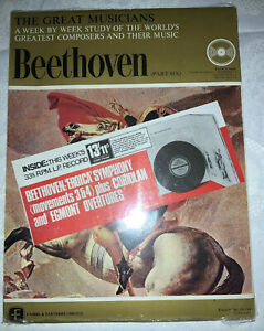 THE GREAT MUSICIANS. Beethoven Part 6. Very Rare Still Sealed. LP & Book