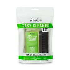Angelus Shoe Polish Co. Easy Cleaner Kit Set: Leather, Suede, Rubber, Nubuck