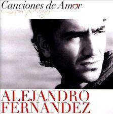 Canciones de Amor by Alejandro Fernández (CD, Jan-2012, Sony Music Latin)