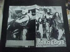 ROBOCOP 3, orig Austrian Film program [Robert Burke, Nancy Allen]