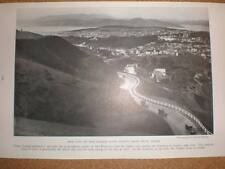 USA above San Francisco printed photograph 1929