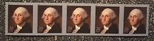 2011USA #4512 20c George Washington - Coil Strip of 5  Mint NH