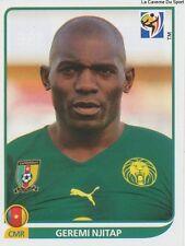 N°396 GEREMI NJITAP # CAMEROON STICKER PANINI WORLD CUP SOUTH AFRICA 2010