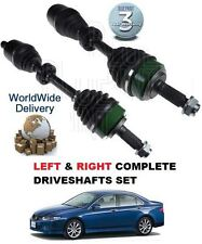 FOR HONDA ACCORD 2.2 CDTi  2003-2008 NEW RIGHT & LEFT SIDE FRONT DRIVE SHAFT SET