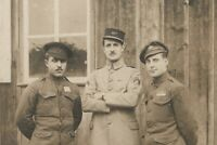 P.O.W. CAMP FRENCH AND BELGIUM CORP. ANTIQUE MILITARY WAR PHOTO RPPC PC POSTCARD