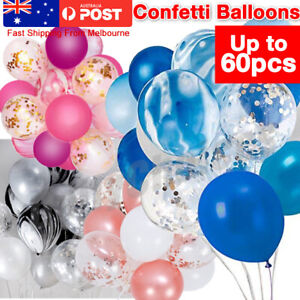 20-60pc Confetti Balloons Agate Sequins Balloon Wedding Party Marriage Birthday
