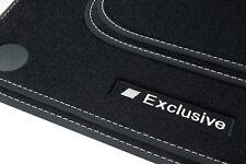 Exclusive-Sport Fußmatten für Mercedes C-Klasse W205 / S205 ab Bj. 2014-