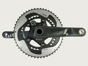 Sram Force Quarq Power Meter 110BCD 52/36t Mid Compact11 Speed 170mm ANT+ GXP