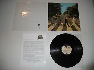 Beatles Abbey Road Drain Tile Analog '69 1st Press EXC so-383 ULTRASONIC Clean