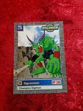 Bandai Digimon Trading Card 29 of 34 Ogremon Series 1