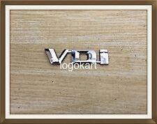 VDi (2 Pcs) 3D Chrome Plated Logo Decal Emblem Monogram for SUV/Car/Automobiles