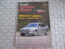 REVUE TECHNIQUE RENAULT LAGUNA PHASE 2 ESSENCE DIESEL DEPUIS 04/98