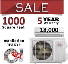 18000 BTU Mini Split Air Conditioner Heat Pump Ductless AC Heater Inverter YMGI