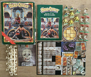 Hero Quest Return Of the Witch Lord Expansion 95% Complete - Games Workshop MB
