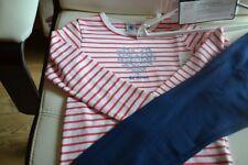 pyjama neuf petit bateaux 5 ans  legers ideal pour la saison plus fille