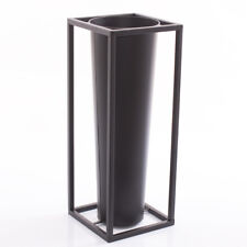 PORTAOMBRELLI NERO METALLO INGRESSO industrial moderno 20x51h minimal ferro