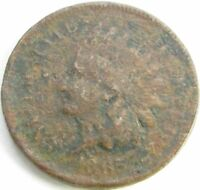 1865 Indian Head Penny / Small Cent in SAFLIP® - Fancy 5 - VF Details