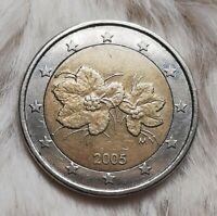 ~~~2 Euro Münze~~~ ~~{*Fehlprägung*}~~ ~~Finnland 2005~~