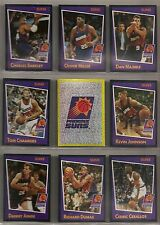 1993-94 Panini Basketball Phoenix Suns Team Set (12) Charles Barkley Etc.