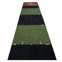 3M Meter Indoor Golf Practice Putting Mat Green Training Aid Putter Trainer
