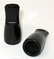 CIGAR HOLDER New Old Stock Vulcanite Black For Small to Medium Cigars