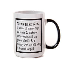 Nana Coffee Mug by Tumbleweed, 16 ounces, gift for grandmother