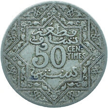 More details for coin / french morocco / 50 centimes 1921      #wt24826