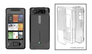 Coque Cristal Transparente (Protection Rigide) ~ Sony Ericsson X1 Xperia