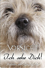 CAIRN Terrier - A4 Metall Warnschild Hundeschild SCHILD Türschild - CRT 06 T5