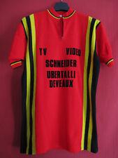Radtrikot Gutierrez Schneider TV Deveaux video vintage 70er Jahre - 3 / M
